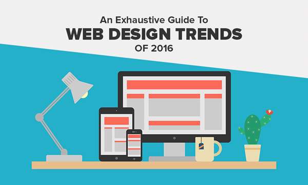 Веб дизайн тренды 2016-2017